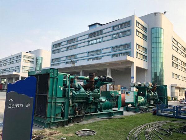 安庆某电子厂出租两台康明斯发电机