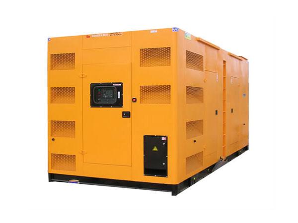 怀宁500-600KW静音发电机组