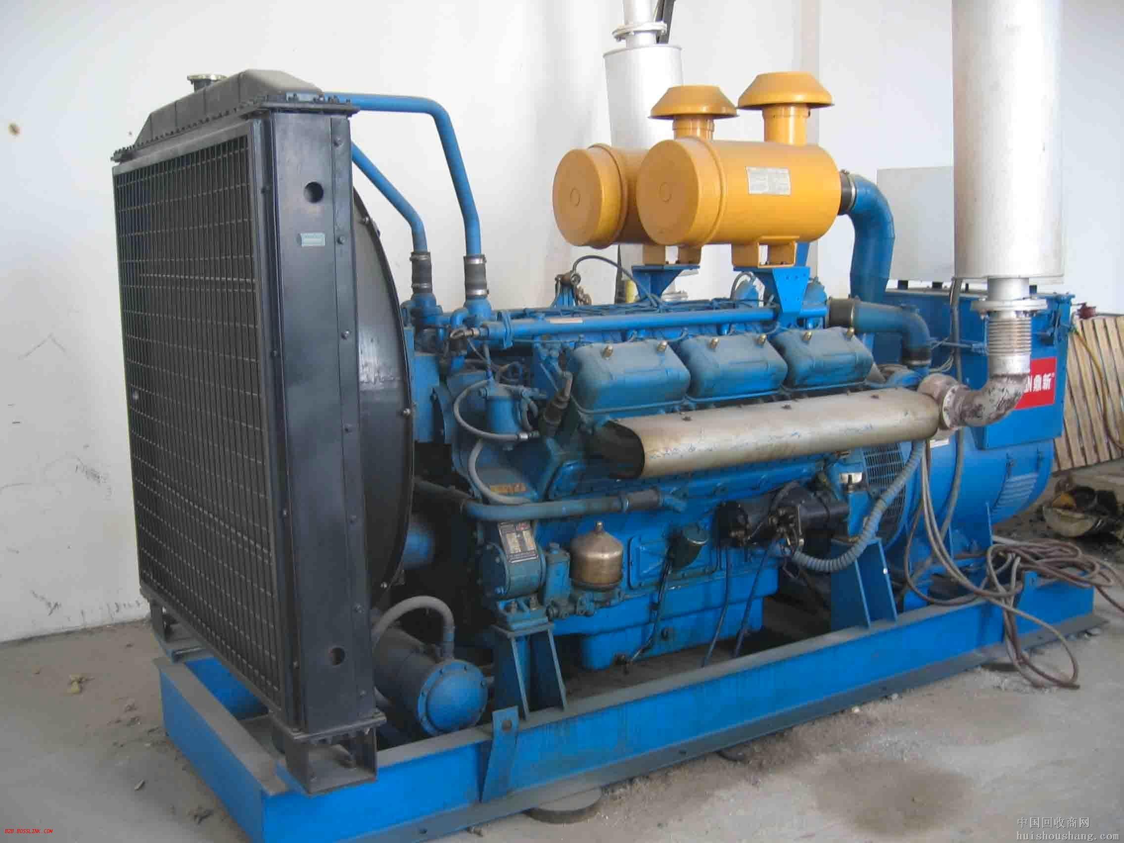 安庆蓝色二手发电机出售