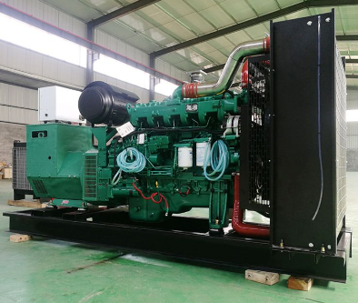 安庆迎江县泰豪500kw大型柴油发电机组