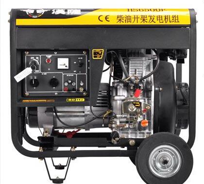 安庆潜山二手上柴5kw小型柴油发电机